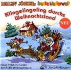 Klingelingeling durchs Weihnachtsland, 1 Audio-CD