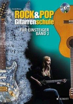 Rock & Pop Gitarrenschule für Einsteiger, m. 1 Audio-CD