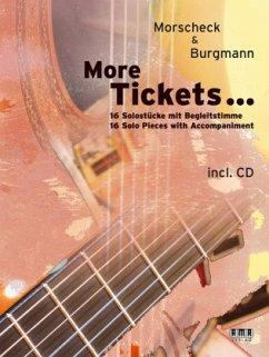 More Tickets ..., für 2 Gitarren, m. Audio-CD