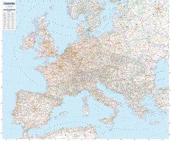 Michelin Editions des Voyages / Travel House Media GmbH Europa 1 : 3 000 000 physisch. Planokarte