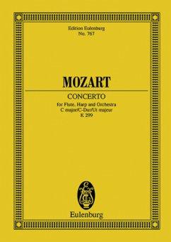 Konzert für Flöte, Harfe und Orchester C-Dur KV 299, Partitur