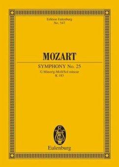 Sinfonie Nr.25 g-Moll KV 183, Partitur - Mozart, Wolfgang Amadeus