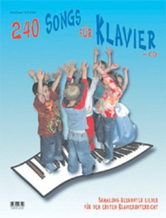 240 Songs für Klavier, m. Audio-CD