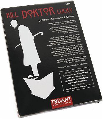 Kill Doktor Lucky schwarze Edition