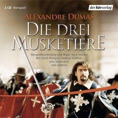 Die drei Musketiere, 2 Audio-CDs - Dumas, Alexandre, der Ältere