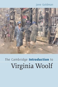 The Cambridge Introduction to Virginia Woolf - Goldman, Jane