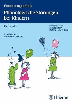 Phonologische Störungen bei Kindern - Jahn, Tanja