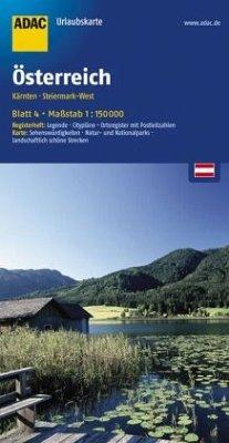 ADAC UrlaubsKarte Österreich - Kärnten, Steiermark-West