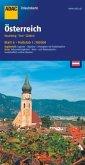 ADAC UrlaubsKarte Österreich - Vorarlberg, Tirol, Südtirol