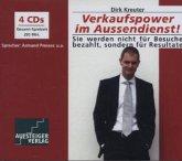 Verkaufspower im Aussendienst!, 4 Audio-CDs