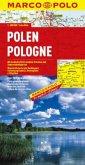 Marco Polo Karte Polen; Pologne / Polska / Poland