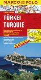 Marco Polo Karte Türkei; Turquie; Türkiye; Turkey