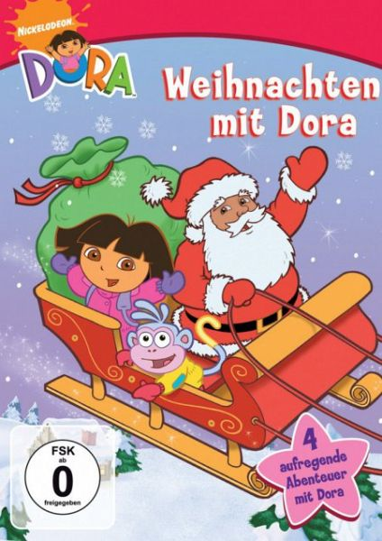 dora weihnachten mit dora film auf dvd. Black Bedroom Furniture Sets. Home Design Ideas