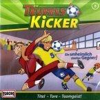 Ein unheimlich starker Gegner / Teufelskicker Bd.6 (1 Audio-CD)