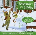 Schneeballschlacht Und Winterspaß