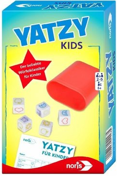 Noris 606094223 - Yatzy für Kinder, Reisespiel