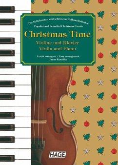 Christmas Time, für Violine und Klavier