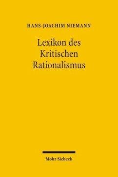 Lexikon des Kritischen Rationalismus - Niemann, Hans-Joachim