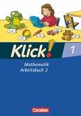 Klick! Mathematik Bd. 1. Arbeitsbuch Teil 2. Westliche Bundesländer