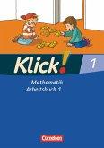 Klick! Mathematik Bd. 1. Arbeitsbuch Teil 1. Westliche Bundesländer