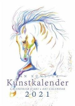 Kunstkalender Pferde 2019