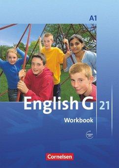 English G 21. Ausgabe A 1. Workbook mit Audios Online - Seidl, Jennifer