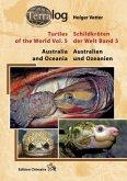 Australien und Ozeanien / Australia and Oceania / Schildkröten der Welt Bd.5