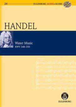 Wassermusik HWV 348-350, Studienpartitur u. Audio-CD - Händel, Georg Friedrich