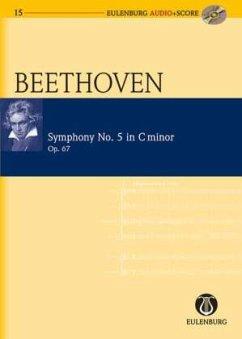 Sinfonie Nr.5 c-Moll op.67, Studienpartiur u. Audio-CD