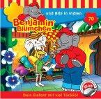 Benjamin Blümchen und Bibi in Indien / Benjamin Blümchen Bd.70 (1 Audio-CD)