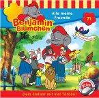 Alle Meine Freunde / Benjamin Blümchen Bd.71 (1 Audio-CD)