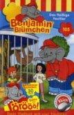 Benjamin Blümchen - Das fleißige Faultier, 1 Cassette