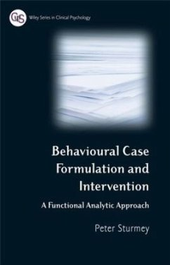 Behavioural Case Formulation and Intervention - Sturmey, Peter