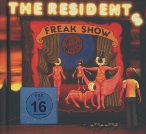 freak show cd dvd von the residents. Black Bedroom Furniture Sets. Home Design Ideas
