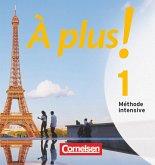 2 Audio-CDs / À plus! Méthode intensive Bd.1