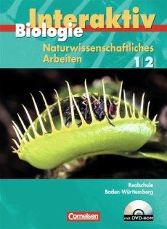 Gesamtband, Schülerbuch m. CD-ROM / Biologie interaktiv, Realschule Baden-Württemberg Bd.1/2