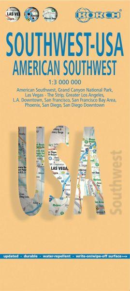 Borch Map Southwest-USA
