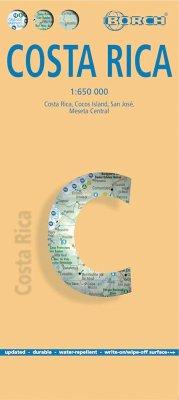 Borch Map Costa Rica