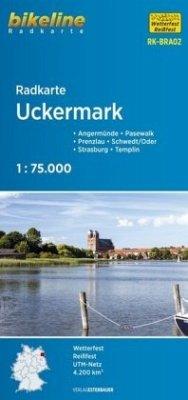Bikeline Radkarte Uckermark