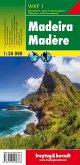 Freytag & Berndt Wander-, Rad- und Freizeitkarte Madeira; Freytag & Berndt Wanderkarte Madère