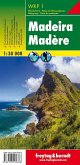 Freytag & Berndt Wanderkarte Madeira / Madère