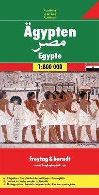 Freytag & Berndt Autokarte Ägypten; Egypte; Egy...