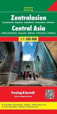 Freytag & Berndt Autokarte Zentralasien; Centra...