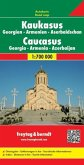 Freytag & Berndt Autokarte Kaukasus, Georgien, Armenien, Aserbaidschan / Cáucaso, Geogia, Armenia, Azerbaiyán / Kaukasus