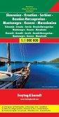 Freytag & Berndt Autokarte Slowenien, Kroatien, Serbien, Bosnien, Herzegowina, Montenegro, Kosovo, Mazedonien; Eslovenia