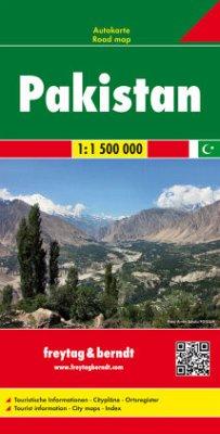 Freytag & Berndt Autokarte Pakistan