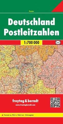 Freytag & Berndt Poster Deutschland, Postleitza...