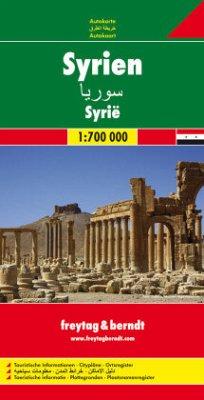 Freytag & Berndt Autokarte Syrien / Syrie / Syr...
