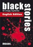 Moses Verlag 00364 - Black Stories 1: englische Ausgabe