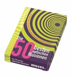 Die 50 besten Optischen Illusionen (Übungskarten) - Waldmann, Britta